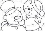 Snow Coloring Pages for toddlers Happy In Snow Day Coloring Pages Winter Coloring Pages