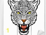 Snow Leopard Wall Mural Snow Leopard
