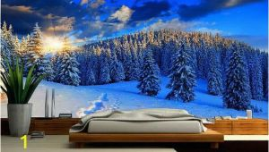 Snow Mountain Wall Mural Snow Mountain Mural Wallpaper Nature Snow Wall Mural Self