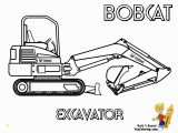 Snow Plow Coloring Page Bobcat Coloring Page Excavator at Yescoloring