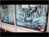Snow Scene Wall Murals Christmas Window Painting Snow Scene This is the Beginning