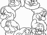 Snow White Coloring Pages Disney White and the Seven Dwarfs Coloring Pages 15