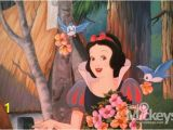 Snow White Wall Mural before Entering the Snow White Ride the Mural Painting