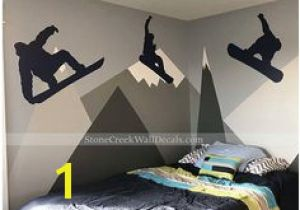 Snowboard Wall Mural 20 Best Snowboard Bedroom Images