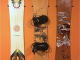 Snowboard Wall Mural the Cinch the Simple Snowboard Wall Mount My Style