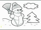 Snowman Coloring Pages Printable Snowman Coloring Pages Lovely Snowman Coloring Page Snowman Coloring
