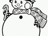 Snowman with Scarf Coloring Page Winter Scarf Coloring Pages Coloring Home