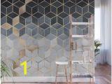 So Blue Gradient Cubes Wall Mural 128 Best Wallpaper & Murals Images