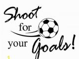 Soccer Ball Wall Mural $1 51 Sticker Wall Zty66 Removable Shoot for Your Goals