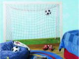 Soccer Goal Wall Mural What A Great Wall Mural for A toy Room or Boys Room whose