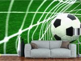 Soccer Murals for Bedrooms soccer Made to Measure Wall Mural