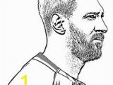 Soccer Player Messi Coloring Pages 60 Gambar Sport Coloring Page Terbaik