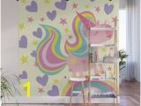 Society6 Wall Mural Review Pink Unicorn Wall Murals