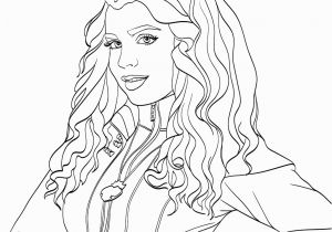 Sofia Carson Coloring Pages Evie Descendants 2 Coloring Page Milahny Bday Pinterest Evie