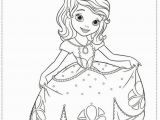 Sofia the First Coloring Page Fresh sofia the First Printable Coloring Pages Flower Coloring Pages