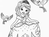 Sofia the First Coloring Page Printable Ausmalbilder Prinzessin sofia Ideen Einzigartig Princess