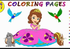 Sofia the First Coloring Page sofia the First Coloring Page