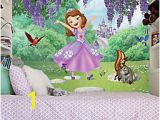 Sofia the First Wall Mural sofia the First