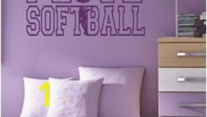 Softball Wall Murals 57 Best softball Wall Decals Images