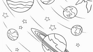 Solar System Coloring Pages for Kids Space Coloring Pages