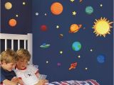 Solar System Wall Mural for Kids the solar System Wall Stickers Decals Children Room Wall Decal