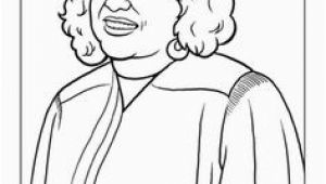 Sonia sotomayor Coloring Page Famous Hispanic Americans Coloring Pages School
