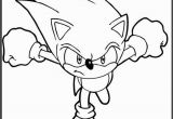 Sonic Characters Coloring Pages sonic Running Printable Coloring Picture for Kids