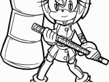 Sonic the Hedgehog Amy Coloring Pages Amy sonic Coloring Pages at Getdrawings