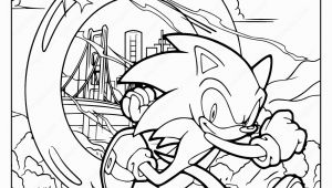 Sonic the Hedgehog Coloring Pages Pdf sonic the Hedgehog Printable Pdf Coloring Pages