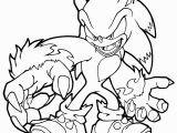 Sonic Unleashed Coloring Pages to Print sonic the Werehog Coloring Pages to Print Az Sketch