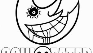 Soul Eater Coloring Pages the Creepy Moon In soul Eater Coloring Pages