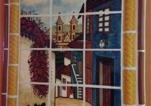Southwest Tile Murals Mexican Style Mural Callejuela Mexican Hacienda