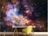 Space Galaxy Wall Mural 45 Artistic Style Home Decor Ideas