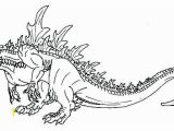 Space Godzilla Coloring Pages Collection Of Godzilla Printable Coloring Pages