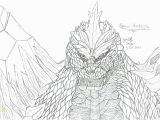 Space Godzilla Coloring Pages Godzilla Coloring Pages Page Sheets Book and to Download Print for