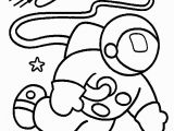 Space themed Coloring Pages astronaut Coloring Pages