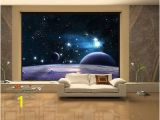 "Space themed Wall Murals 100"" X 145"" Space 3d Sky Clouds Stars Wall Murals Wallpaper Home"