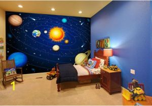 Space themed Wall Murals 20 Wondrous Space themed Bedroom Ideas You Should Try