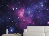 Space themed Wall Murals Galaxy Wall Mural 13 X9 $54 Trying to Think Of Cool Wall Decor