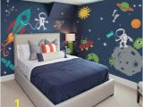 Space themed Wall Murals Outer Space Wall Decal In 2019 Wall Decals Playroom