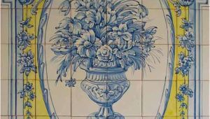 Spanish Tile Murals Tile Murals Spanish Tile Victorian Tile Decorative Tile Ceramic