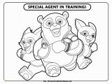 Special Agent Oso Printable Coloring Pages Special Agent Oso 1 Free Disney Coloring Sheets