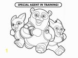 Special Agent Oso Printable Coloring Pages Special Agent Training In Special Agent Oso Coloring Page