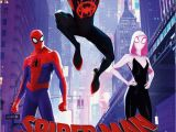Spider Man Into the Spider Verse Coloring Spider Man Into the Spider Verse International Poster and