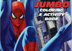 Spider Man Jumbo Coloring Book Ic Books January 2006
