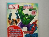 Spider Man Jumbo Coloring Book Marvel Way Big Sticker Activity Book Hulk Spider Giant Man Thor Iron Wolverine