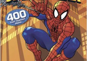 Spider Man Jumbo Coloring Book Over 175 Free Printable Superhero Coloring Pages with