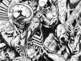 Spider Man Universe Coloring Pages Venom X Wolverine