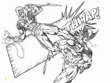 Spider Man Verse Coloring Pages Deadpool Vs Wolverine Coloring Pages Enjoy Coloring Con
