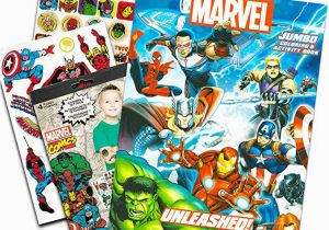 Spiderman Coloring and Activity Book Marvel Avengers Coloring & Activity Book with Glow In the
